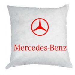 Подушка Mercedes Benz logo