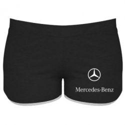 Купить Женские шорты Mercedes Benz logo, FatLine