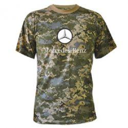 Камуфляжная футболка Mercedes-Benz Logo - FatLine