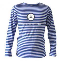 Тельняшка с длинным рукавом Mercedes-Benz Logo - FatLine