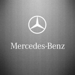 Наклейка Mercedes Benz logo