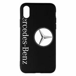 Чехол для iPhone X/Xs Mercedes-Benz Logo
