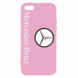 Купить Чехол для iPhone5/5S/SE Mercedes-Benz Logo, FatLine