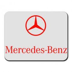 Коврик для мыши Mercedes Benz logo - FatLine
