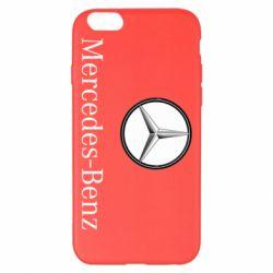 Чехол для iPhone 6 Plus/6S Plus Mercedes-Benz Logo