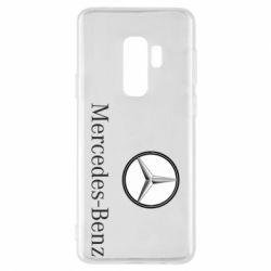 Чехол для Samsung S9+ Mercedes-Benz Logo