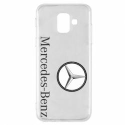 Чехол для Samsung A6 2018 Mercedes-Benz Logo