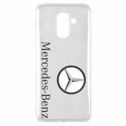 Купить Чехол для Samsung A6+ 2018 Mercedes-Benz Logo, FatLine
