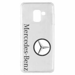 Чехол для Samsung A8 2018 Mercedes-Benz Logo