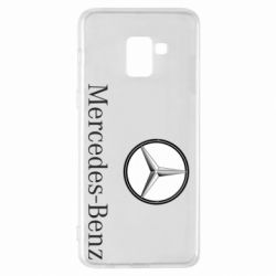Чехол для Samsung A8+ 2018 Mercedes-Benz Logo