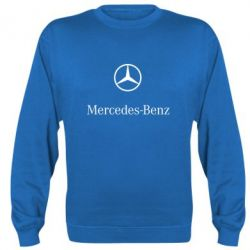 Реглан (свитшот) Mercedes Benz logo - FatLine
