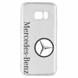Чехол для Samsung S7 Mercedes-Benz Logo