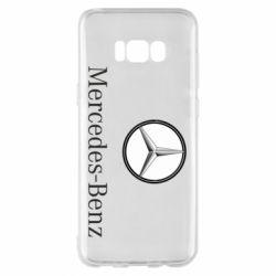Чехол для Samsung S8+ Mercedes-Benz Logo