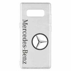 Чехол для Samsung Note 8 Mercedes-Benz Logo