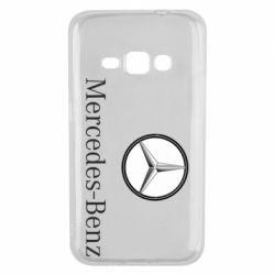 Чехол для Samsung J1 2016 Mercedes-Benz Logo
