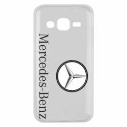 Чехол для Samsung J2 2015 Mercedes-Benz Logo
