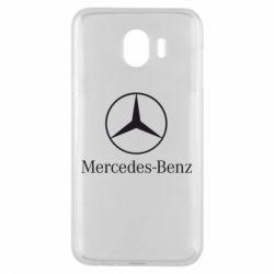 Чехол для Samsung J4 Mercedes Benz