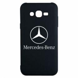 Чехол для Samsung J7 2015 Mercedes Benz