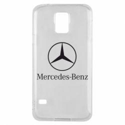 Чехол для Samsung S5 Mercedes Benz