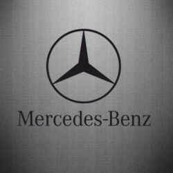 Наклейка Mercedes Benz