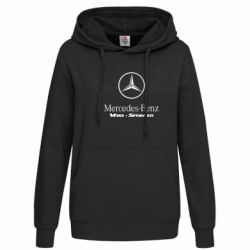Женская толстовка Mercedes Benz - FatLine
