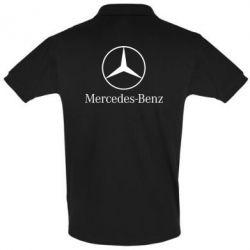 Мужская футболка поло Mercedes Benz