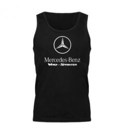 Мужская майка Mercedes Benz - FatLine