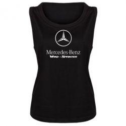 Женская майка Mercedes Benz - FatLine