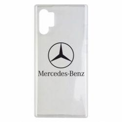 Чехол для Samsung Note 10 Plus Mercedes Benz