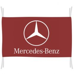Флаг Mercedes Benz
