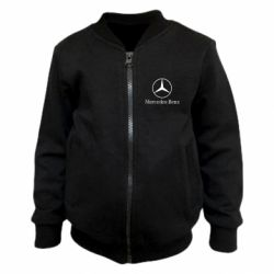 Детский бомбер Mercedes Benz