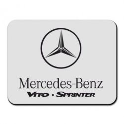 Коврик для мыши Mercedes Benz - FatLine