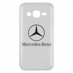 Чехол для Samsung J2 2015 Mercedes Benz