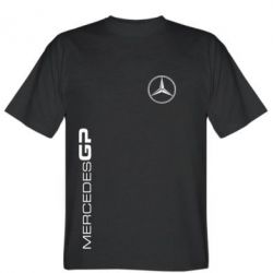 Мужская футболка Mercedes GP Logo - FatLine