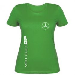 Женская футболка Mercedes GP Logo - FatLine
