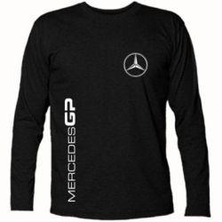 Футболка с длинным рукавом Mercedes GP Logo - FatLine