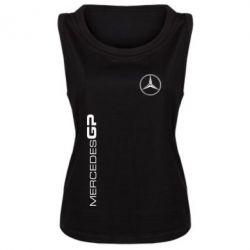 Женская майка Mercedes GP Logo - FatLine