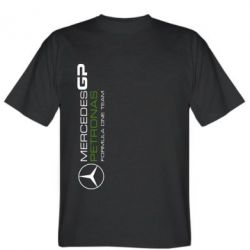 Мужская футболка Mercedes GP Vert - FatLine