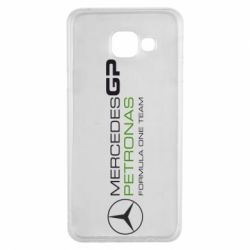 Чехол для Samsung A3 2016 Mercedes GP Vert