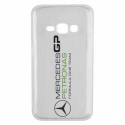 Чехол для Samsung J1 2016 Mercedes GP Vert