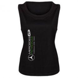 Женская майка Mercedes GP Vert - FatLine