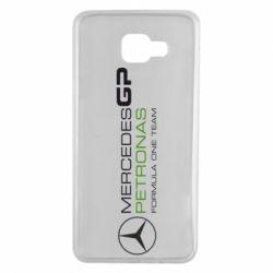 Чехол для Samsung A7 2016 Mercedes GP Vert