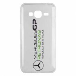 Чехол для Samsung J3 2016 Mercedes GP Vert