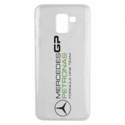 Чехол для Samsung J6 Mercedes GP Vert