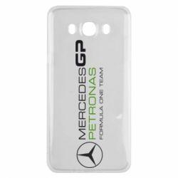 Чехол для Samsung J7 2016 Mercedes GP Vert