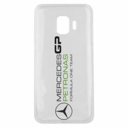 Чехол для Samsung J2 Core Mercedes GP Vert