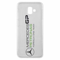 Чехол для Samsung J6 Plus 2018 Mercedes GP Vert