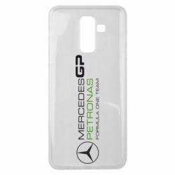 Чехол для Samsung J8 2018 Mercedes GP Vert