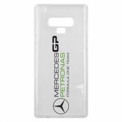 Чехол для Samsung Note 9 Mercedes GP Vert