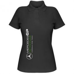 Женская футболка поло Mercedes GP Vert - FatLine